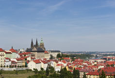 Panoramic view of Prague Stock Images