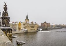 Prague in the Czech Republic Royalty Free Stock Images