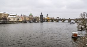 Prague in the Czech Republic Stock Photography