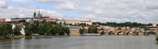 Panoramic view of Prague Royalty Free Stock Image