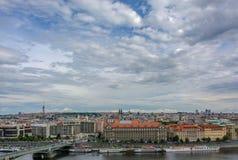 Panoramic view of Prague, Czech Republic Stock Photography