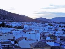 View of Priego-Cordoba royalty free stock images