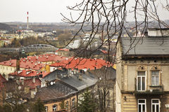 Panoramic view in Przemysl. Poland Royalty Free Stock Image