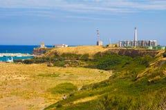 Panoramic view of Punta Penna Stock Photo