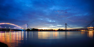 A panoramic view of Putrajaya Royalty Free Stock Image