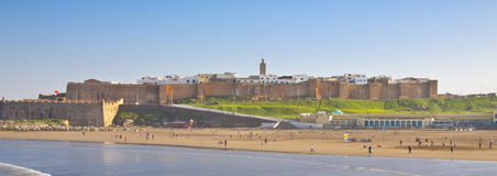Panoramic view of Rabat Royalty Free Stock Photos