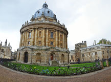 Panoramic view of the Radcliffe Camera Stock Photos
