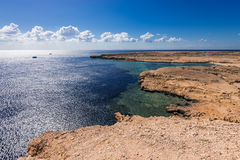 Panoramic view in Ras Mohamed National Park Stock Image