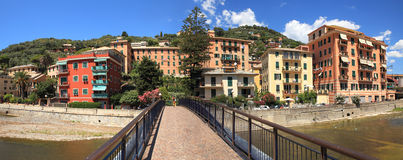 Panoramic view on Recco. Royalty Free Stock Image