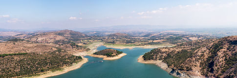 Panoramic View of River Royalty Free Stock Photography
