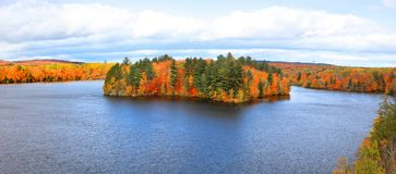 Riviere Saint Maurice in Quebec royalty free stock images