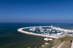 Panoramic view of Rodi Garganico Royalty Free Stock Photo