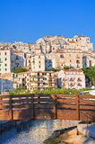 Panoramic view of Rodi Garganico. Puglia. Italy. Stock Photo