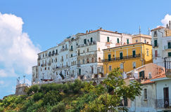 Panoramic view of Rodi Garganico. Puglia. Italy. Stock Images