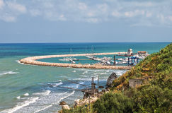 Panoramic view of Rodi Garganico. Puglia. Italy. Stock Photography