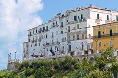 Panoramic view of Rodi Garganico. Puglia. Italy. Stock Photos