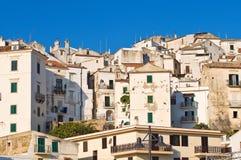 Panoramic view of Rodi Garganico. Puglia. Italy. Royalty Free Stock Photography