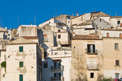 Panoramic view of Rodi Garganico. Puglia. Italy. Royalty Free Stock Photography