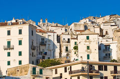 Panoramic view of Rodi Garganico. Puglia. Italy. Royalty Free Stock Image