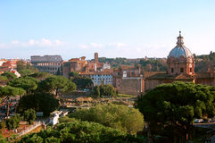 View of Rome Royalty Free Stock Image