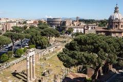 Panoramic view of Rome Stock Photos