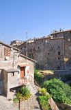Panoramic view of Ronciglione. Lazio. Italy. Royalty Free Stock Image