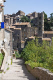 Panoramic view of Ronciglione. Lazio. Italy. Royalty Free Stock Photo