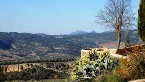 Panoramic view-Ronda- ANDALUSIA-SPAIN Stock Photo