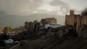 Panoramic view-Ronda- ANDALUSIA-SPAIN Stock Images