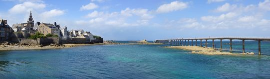 Roscoff. Brittany, France stock photography