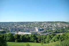 Panoramic view of Rouen Stock Photo