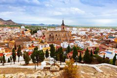 Panoramic view of Sagunto Royalty Free Stock Photo