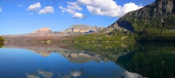 Saint Mary lake Stock Images