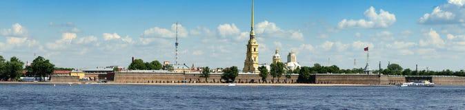 Panoramic view of Saint-Petersburg Stock Photography
