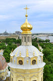 Panoramic view of Saint-Petersburg from height, Russia Stock Photos