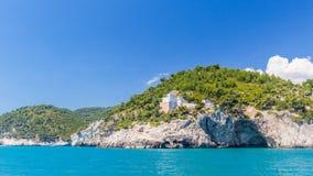 Panoramic view of San Felice Bay; Apulia, Italy. Panoramic view of San Felice Bay;in Apulia region, north Italy Royalty Free Stock Photo