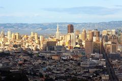 Panoramic view of San Francisco Royalty Free Stock Photo