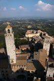 Panoramic view of San Gimignano Royalty Free Stock Image