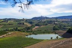 San Gimignano, Tuscany royalty free stock image