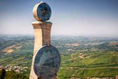 Panoramic view from San Marino hill Stock Photography