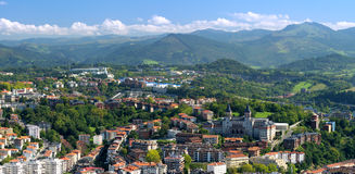 Panoramic view of San Sebastian Royalty Free Stock Photo