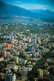 Panoramic view of Santiago Royalty Free Stock Photography