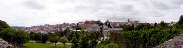 Panoramic view of Santiago de Compostela & x28;Spain& x29; Royalty Free Stock Images