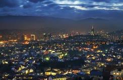 Panoramic view of Sarajevo. Bosnia and Herzegovina Royalty Free Stock Image