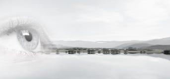 Panoramic view Stock Image