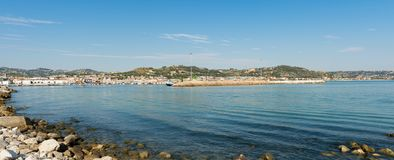 Seafront of San Benedetto del Tronto - Ascoli Piceno -Italy Royalty Free Stock Photos