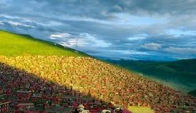 Panoramic view of Seda Buddha Stock Photos