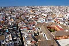 Panoramic view of Seville, Spain Stock Photography