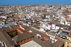 Panoramic view of Seville, Spain Stock Photos