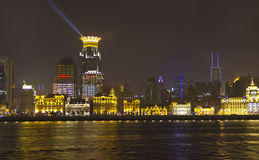 Panoramic view of Shanghai Royalty Free Stock Image
